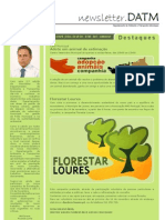 Newsletter do Departamento de Ambiente e Transportes Municipais