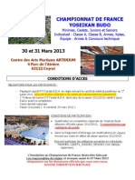 CF 2013 - Infos, Conditions d'accès