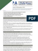 2012-11-29 Ifalpa Daily News