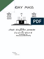Ward Sunday Mass