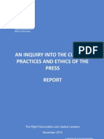 The Leveson Inquiry IV