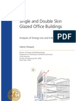 Single and Double Skin Glazed Office Buildings