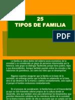 25 Tipos de Familia