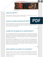 BOLETÍN INFORMATIVO DEL SICPY  - AÑO 1 - Nº 0 - PARAGUAY - PORTALGUARANI