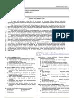 Ensino Técnico 2012-1 (Conhecimentos Gerais e Redação)