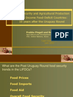 Pingali - Food Security and Agricultural Production