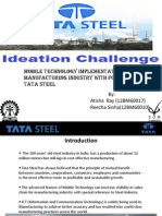 Tata Steel Ideation