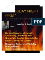 Friday Night Fire Services!