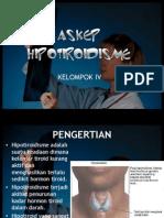 ASKEP HIPOTIROIDISM