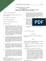 Directive Européenne Facturation éléctronique