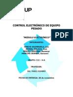 CONTROL ELECTRÓNICO DE EQUIPO PESADO