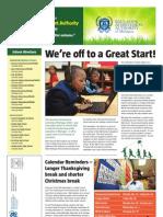 Education Achievement Authority  2012 Winter Newsletter