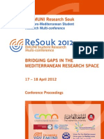 ReSouk 2012 Proceedings-FINAL