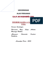 Informe Geologia Salida a Campo