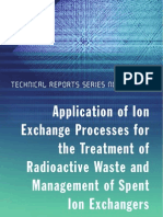 1. Application of Ion Exchange Processes for the Treatment of Radioactive Waste....