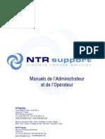 NTRsupport Manuels de l Administrateur et de l'Operateur