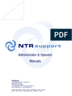 NTRsupport Administrator and Operator Manual