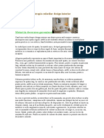 Terapia Culorilor - Design Interior