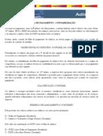 CONTABILIZAÇÃO DE FOLHA DE PAGAMENTO