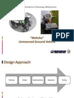 Moksha - Unmanned Ground Vehicle