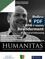 Mark Thompson 2012 Public Bewilderment