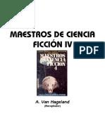 A. Van Hageland - Maestros de Ciencia Ficcion IV