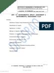 Unit 6 Environmental Impact Assessment