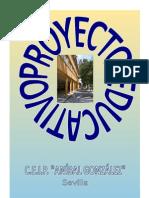 PROYECTO EDUCATIVO MODIFICADO 2012-2013