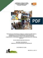Manual de Procedimientos Generales Para El Procesamiento de Almibar de Durazno