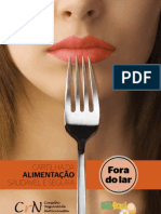 CARTILHA ALIMENTAÇÃO FORA DO LAR