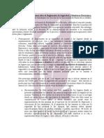 Comentarios y Preocupaciones sobre el Reglamento de Seguridad y Monitoreo Electrónico