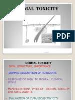 Dermatological Toxicity