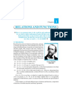 Relations and Functions Ch 1
