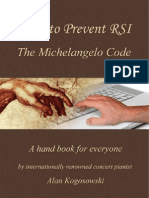 How to prevent RSI - the Michelangelo Code