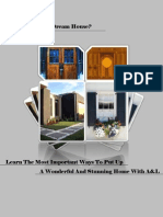 Build Your Dream Home With A&L Windows And Doors