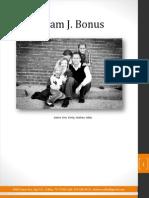 Ministry Resume - Adam Bonus
