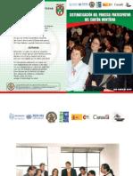 Sistematización Experiencia Participación Ciudadana del Cantón Montúfar-Carchi-Ecuador