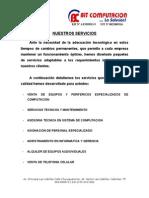 Expediente Bit Computacion (Anexos) ,Mercadeo Trabajo #2 Imprimir