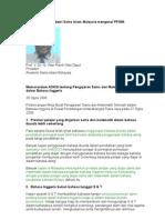 PPPSMI, Memorandum ASASI 2008