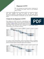 Introdução ao diagrama GANTT - PERT CPM
