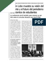 Artículo Conferencia Ramón Lobo