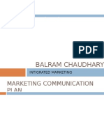 Marketing Communication Planning process (IMC)