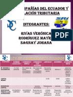 LEY DE COMPAÑÍAS DEL ECUADOR Y LEGISLACIÓN TRIBUTARIA