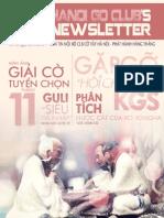 Bản tin clb Cờ Vây Hà Nội số 13 - tháng 11/2012