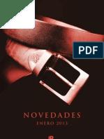 Novedades Ediciones B enero 2013