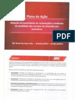 Plano de Ação da Sky para televisão por assinatura