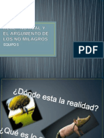 REAL , NO REAL Y EL ARGUMENTO DE