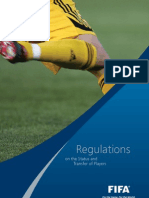 FIFA Regulation on Status and Transfer of Players