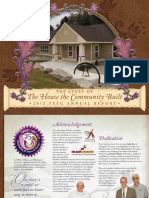 TEEG Annual Report - The House the Community Build