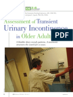 HOW to TRY THIS Assessment of Transient Urinary.43